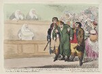 'Andrew Robinson Bowes Esqr. as he appeared in the Court of Kings Bench', by James Gillray, published by  Elizabeth Jackson, published 2 December 1786 - NPG  - © National Portrait Gallery, London