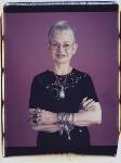 Dame Jacqueline Wilson (née Aitken), by Maud Sulter, 2001 - NPG  - © National Portrait Gallery, London