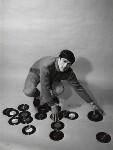 Dave Clark, by Lewis Morley, 1964 - NPG  - © Lewis Morley Archive / National Portrait Gallery, London