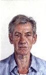 Ian McKellen, by Clive Smith, 2001-2002 - NPG  - © National Portrait Gallery, London