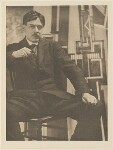 Wyndham Lewis, by Alvin Langdon Coburn, published by  Duckworth & Co, 25 February 1916 - NPG  - © The Universal Order