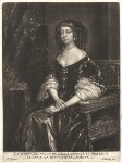 Catherine of Braganza, by Abraham Blooteling (Bloteling), after  Sir Peter Lely, before 1680 (circa 1666) - NPG  - © National Portrait Gallery, London