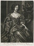 Mary of Modena, published by Alexander Browne, after  Sir Peter Lely, circa 1680-4 - NPG  - © National Portrait Gallery, London