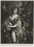 Elizabeth Montagu (née Wriothesley), Countess of Montagu when Countess of Northumberland, published by Alexander Browne, after  Sir Peter Lely, circa 1684 - NPG  - © National Portrait Gallery, London