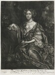 Katherine Seymour (née Lee), Lady Seymour, published by Alexander Browne, after  Sir Peter Lely, circa 1684 - NPG  - © National Portrait Gallery, London