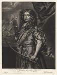 Sir Frescheville Holles, published by Alexander Browne, after  Sir Peter Lely, circa 1684 (circa 1672) - NPG  - © National Portrait Gallery, London