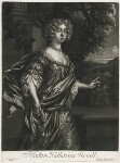 Katherine Neville (née Grey), published by Alexander Browne, after  Sir Peter Lely, circa 1684 - NPG  - © National Portrait Gallery, London