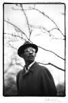 Linton Kwesi Johnson, by Andrew Catlin, 1984 - NPG  - © Andrew Catlin / National Portrait Gallery, London