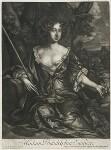 Philadelphia Saunders, published by Alexander Browne, after  Sir Peter Lely, circa 1684 - NPG  - © National Portrait Gallery, London