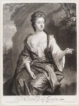 Isabella Fitzroy (née Bennet), Duchess of Grafton, by and published by John Smith, after  Sir Godfrey Kneller, Bt, 1692 - NPG  - © National Portrait Gallery, London