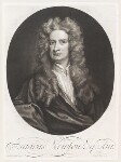 Sir Isaac Newton, by and published by John Smith, after  Sir Godfrey Kneller, Bt, 1712 (1702) - NPG  - © National Portrait Gallery, London