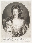 Mary of Modena, by John Smith, published by  Alexander Browne, after  Nicolas de Largillière, 1686 - NPG  - © National Portrait Gallery, London