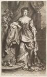 Queen Anne when Princess of Denmark, by John Smith, published by  Edward Cooper, after  Willem Wissing, after  Jan van der Vaart, 1687 - NPG  - © National Portrait Gallery, London