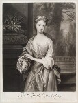 Sarah Plowden (née Chicheley), by and published by John Smith, after  Sir Godfrey Kneller, Bt, 1701 - NPG  - © National Portrait Gallery, London