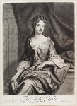 Catherine Copley (née Purcell), Lady Copley, by and published by John Smith, after  Sir Godfrey Kneller, Bt, 1697 - NPG  - © National Portrait Gallery, London