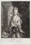 Mrs Cross, by and published by John Smith, after  Thomas Hill, 1700 - NPG  - © National Portrait Gallery, London