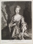 Mary Capel (née Bentinck), Countess of Essex, by and published by John Smith, after  Sir Godfrey Kneller, Bt, 1695 - NPG  - © National Portrait Gallery, London