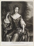 Madam D'Avenant, by and published by John Smith, after  Sir Godfrey Kneller, Bt, 1689 - NPG  - © National Portrait Gallery, London