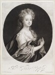 Elinor (Eleanor) Copley, by and published by John Smith, after  Sir Godfrey Kneller, Bt, 1694 - NPG  - © National Portrait Gallery, London