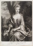 Mrs Carter, by and published by John Smith, after  Sir Godfrey Kneller, Bt, 1707 (1706) - NPG  - © National Portrait Gallery, London