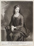 Frances Cecil (née Bennett), Countess of Salisbury, by and published by John Smith, after  Sir Godfrey Kneller, Bt, 1696 (1695) - NPG  - © National Portrait Gallery, London