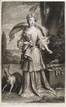 Elizabeth Southwell (née Cromwell), Lady Cromwell, by and published by John Smith, after  Sir Godfrey Kneller, Bt, 1702 - NPG  - © National Portrait Gallery, London