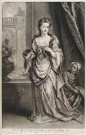 Mary Butler (née Somerset), Duchess of Ormonde, by and published by John Smith, after  Sir Godfrey Kneller, Bt, 1702 - NPG  - © National Portrait Gallery, London