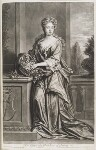 Henrietta Crofts (née Scott), Duchess of Bolton, by and published by John Smith, after  Sir Godfrey Kneller, Bt, 1703 (circa 1700) - NPG  - © National Portrait Gallery, London