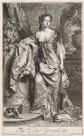 Alice (née Sherrard), Lady Brownlow, by John Smith, published by  Alexander Browne, after  Willem Wissing, 1685 (1685) - NPG  - © National Portrait Gallery, London