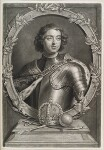 Peter I (Peter the Great), by and published by John Smith, after  Sir Godfrey Kneller, Bt, 1698 - NPG  - © National Portrait Gallery, London
