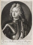Frederick William I, King of Prussia, published by John Smith, after  Friedrich Wilhelm Weidemann, 1715 - NPG  - © National Portrait Gallery, London