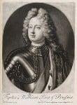 Frederick William I, King of Prussia, published by John Smith, after  Friedrich Wilhelm Weidemann, 1715 - NPG  - © National Portrait Gallery, London