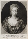 Sophia Dorothea, Queen of Prussia, published by John Smith, after  Friedrich Wilhelm Weidemann, 1715 - NPG  - © National Portrait Gallery, London