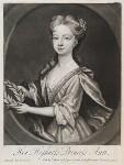 Anne, Princess Royal and Princess of Orange, published by John Smith, after  Sir Godfrey Kneller, Bt, 1720 - NPG  - © National Portrait Gallery, London