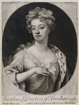 Sarah Churchill (née Jenyns (Jennings)), Duchess of Marlborough, published by John Smith, after  Sir Godfrey Kneller, Bt, 1705 - NPG  - © National Portrait Gallery, London
