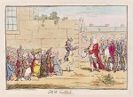 'Irish gratitude' (Henry Flood?; Henry Grattan; Edmond Sexton Pery, Viscount Pery), by James Gillray, published by  Hannah Humphrey, published 13 June 1782 - NPG  - © National Portrait Gallery, London