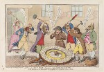 'The W[estminster] just-asses a braying - or - the downfall of the E. O. table', by James Gillray, published by  William Humphrey, published 26 August 1782 - NPG  - © National Portrait Gallery, London