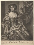 Madam Graham, published by Richard Tompson, after  Sir Peter Lely, 1678-1679 - NPG  - © National Portrait Gallery, London