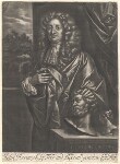 John Hervey, published by Richard Tompson, after  Sir Peter Lely, 1678-1679 - NPG  - © National Portrait Gallery, London