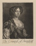 Elizabeth Grey (née Harvey), Countess of Stamford, published by Richard Tompson, after  Sir Peter Lely, 1678-1679 - NPG  - © National Portrait Gallery, London