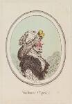 'Une femme d'esprit', by James Gillray, published by  Hannah Humphrey, published 22 June 1795 - NPG  - © National Portrait Gallery, London