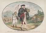 'Balaam, - or the majesty of the people', by James Gillray, published by  William Humphrey, published 10 April 1783 - NPG  - © National Portrait Gallery, London