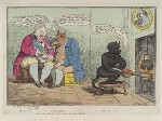 'Bonus Melior Optimus or the devil's the best of the bunch' (Frederick North, 2nd Earl of Guilford; Charles James Fox), by James Gillray, published by  William Humphrey, published 22 April 1783 - NPG  - © National Portrait Gallery, London