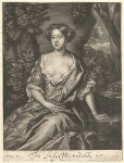 Anne (née Fielding), Lady Morland, published by Richard Tompson, after  Sir Peter Lely, 1678-1679 - NPG  - © National Portrait Gallery, London