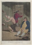 'Evening consolation' (Edmund Burke; Frederick North, 2nd Earl of Guilford; Charles James Fox), by James Gillray, published by  Hannah Humphrey, published 25 February 1785 - NPG  - © National Portrait Gallery, London