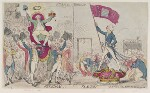 'France freedom Britain slavery', by James Gillray, published by  James Aitken, published 28 July 1789 - NPG  - © National Portrait Gallery, London