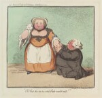 'Oh! That this too too solid flesh would melt', by James Gillray, published by  Hannah Humphrey, published 20 March 1791 - NPG  - © National Portrait Gallery, London