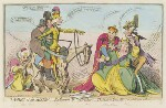 'Taming of the shrew : - Katharine & Petruchio : - the modern Quixotte, or what you will', by James Gillray, published by  Samuel William Fores, published 20 April 1791 - NPG  - © National Portrait Gallery, London