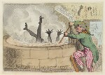 'Barbarities in the West Indias [Indies]', by James Gillray, published by  Hannah Humphrey, published 23 April 1791 - NPG  - © National Portrait Gallery, London