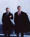 Stuart Alan Ransom Rose; Charles Wilson, by Jillian Edelstein, 16 November 2001 - NPG  - © National Portrait Gallery, London